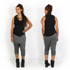 """Safar\"" 3/4 Harem pants, Grey"