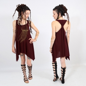 "\""Sajja Medusa\"" knotted tunic"