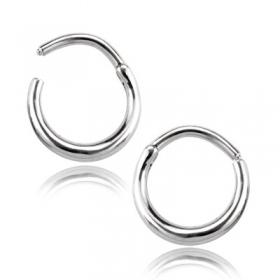 "\""Saliz\"" steel nose ring"