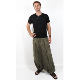 "\""Sandokhan\"" sarouel, High Clothing, Khaki"