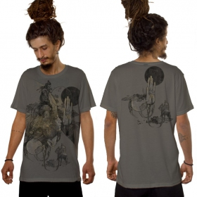 """Sarmata\"" t-shirt, Light grey"