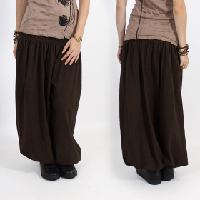 "Sarouel ""Layto\"", Dark brown"