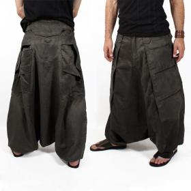 "Sarouel High Clothing \""Sandokhan\"", GreyBrown"