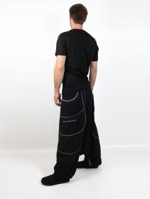 "Sarouel Macha \""Lines\"", Black grey"