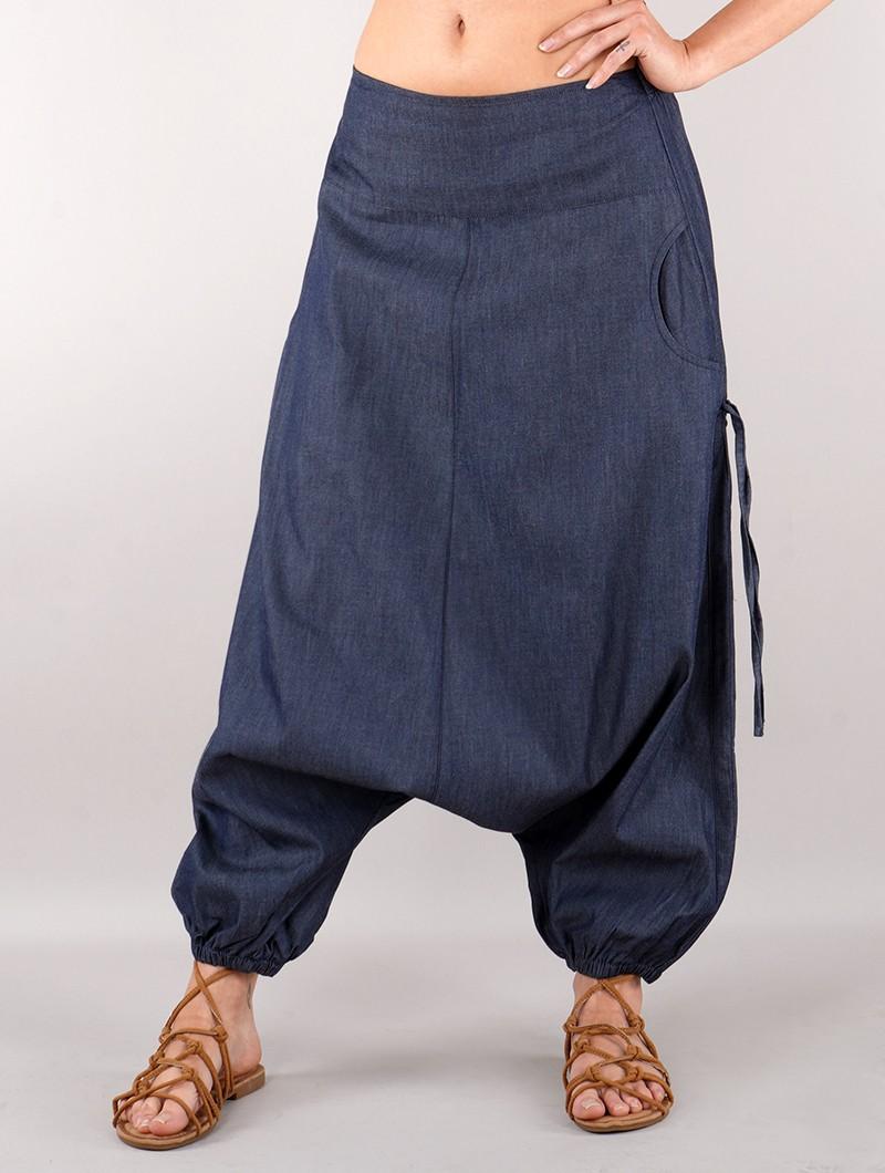 "\""Saswat\"" Gender neutral harem pants, Jean"