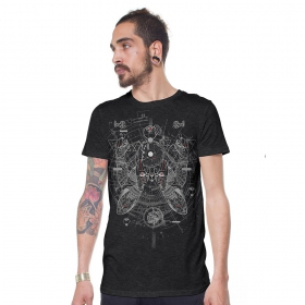 "\\\""Savitar\\\"" t-shirt, Mottled grey"