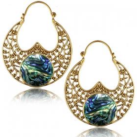 "\""Sayka\"" earrings"