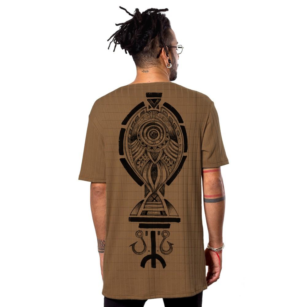 "\""Scalebook\"" t-shirt, Moka"
