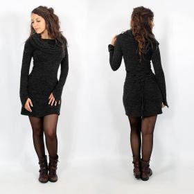 "\""Shaë\"" pullover dress, Charcoal"