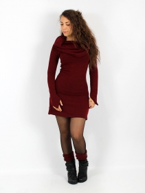 """Shaë\"" sweater dress, Wine"