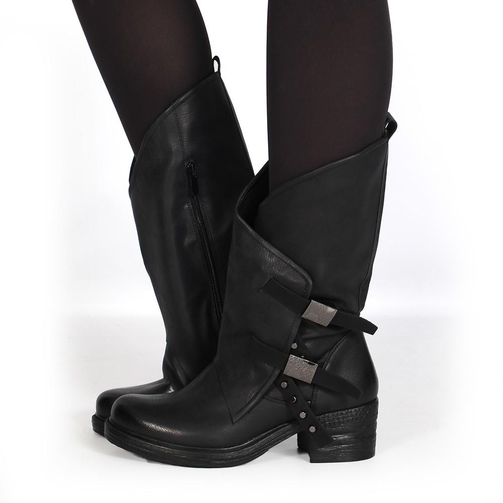 "\""Shakila\"" boots, Black"