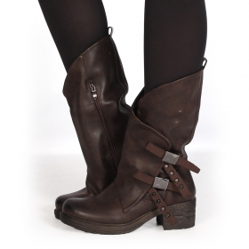 """Shakila\"" boots, Brown"