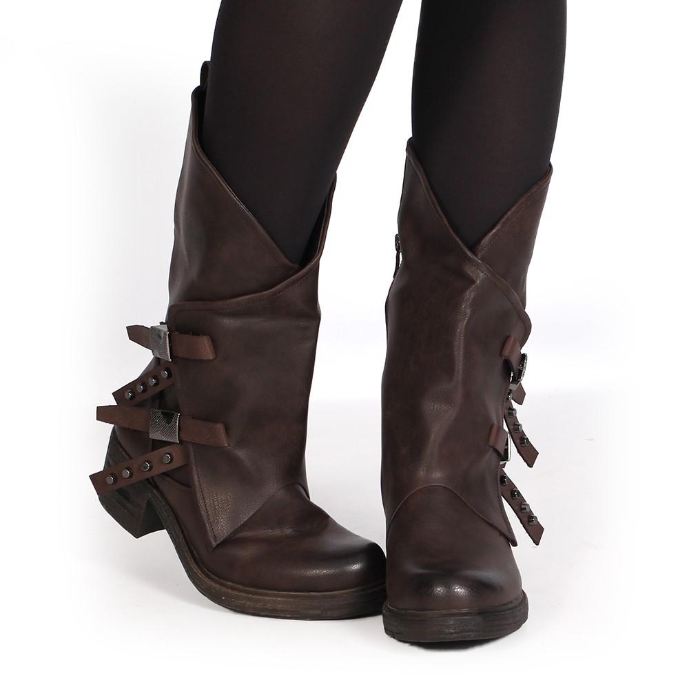 "\""Shakila\"" boots, Brown"