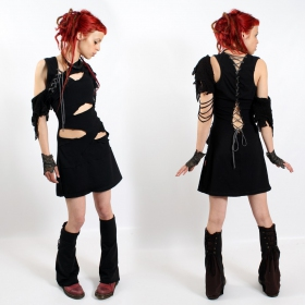 "Shaman Dress ""Lindy\"", Black"