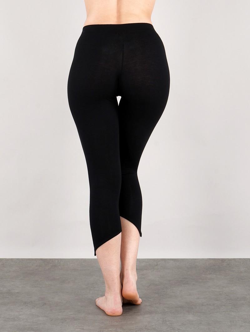 "\""Shayäa\"" pointy leggings, Black"