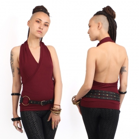 """Shikha\"" tank top, Wine"