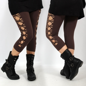 """Shinta\"" leggings, Brown"