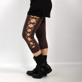"\""Shinta\"" leggings, Brown"