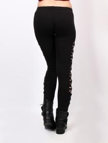 "\""Shinta\"" long leggings, Black"