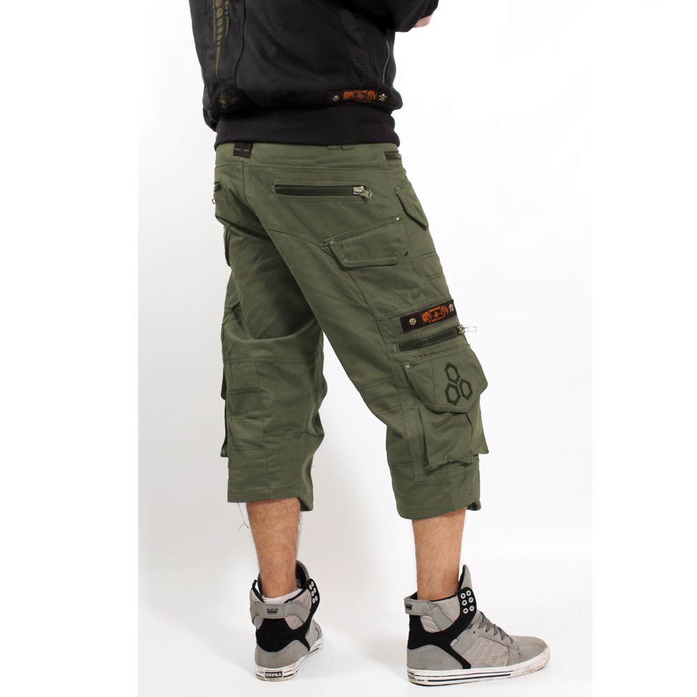 "Short 3/4 Indian Project \""Dealer\\\"", Khaki"