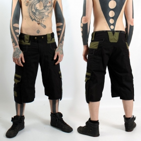 "Short pants  \\\""trinity\\\"", black - kaki"