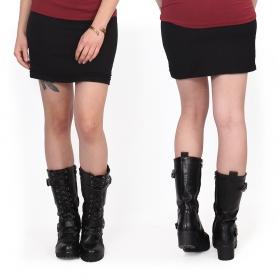 "\""Shüuz\"" skirt, Black"
