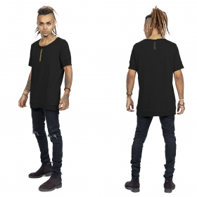 """Siam\"" t-shirt, Black and gold"