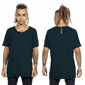 "\""Siam\"" t-shirt, Darkteal and black"