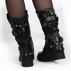 "\""Silmari\"" boots, Black"