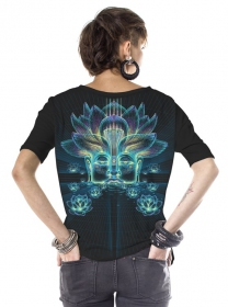 "\""Sita Kamala\"" t-shirt, Black"