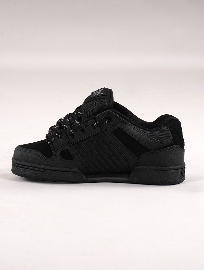 Skate shoes DVS Celsius, Black leather
