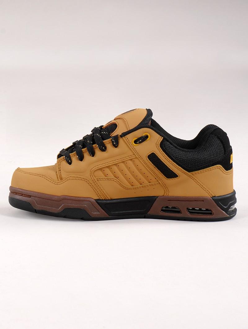 Skate shoes DVS Enduro Heir, Camel leather and black details