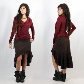 "Skirt ""Manolee\"", Brown"