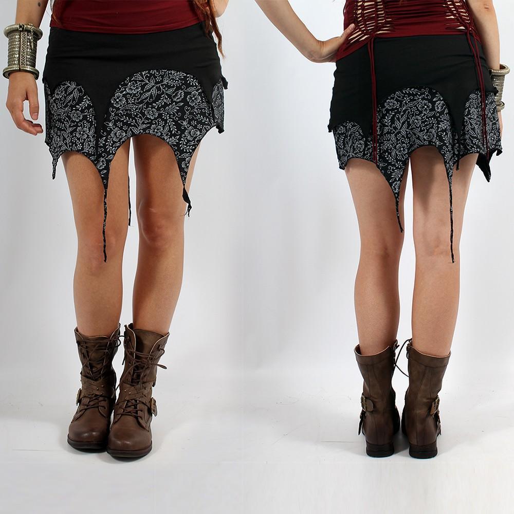 """Skirt \""""Sananda\"""", Black black"""