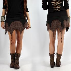 """Skirt \""""Sananda\"""", Black brown"""