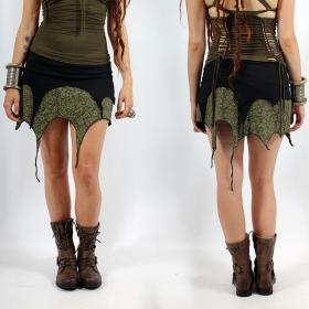 "Skirt \""Sananda\"", Black kaki"