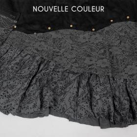 "Skirt Exception \\\""Chimey\\\"", Black grey"