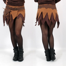 """Skirt High Clothing \""""Fairy\"""", Mix Brown"""