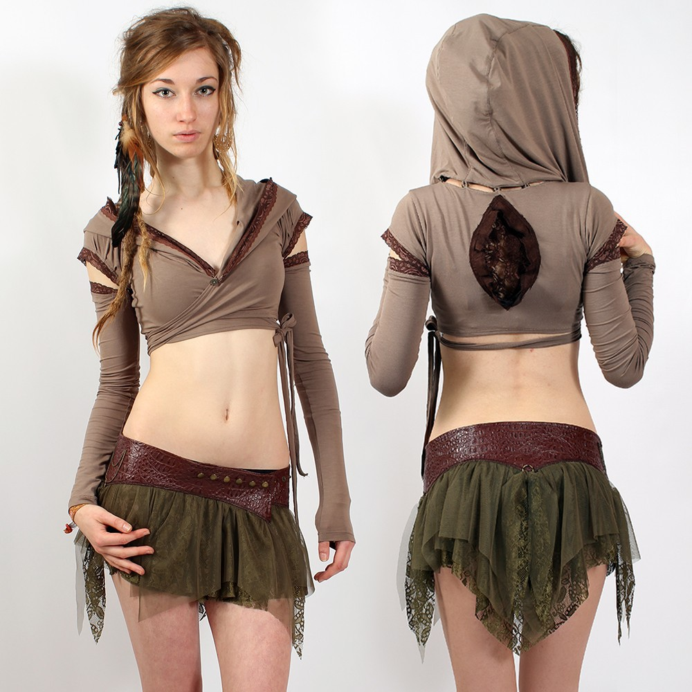"Skirt liloo \\\""chiba tutu\\\"", khaki"