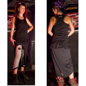 "Skirt xorgin \""gourou\"", black"