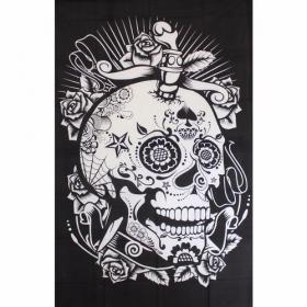 "\\\""Skull Circus\\\"" hanging, Black"
