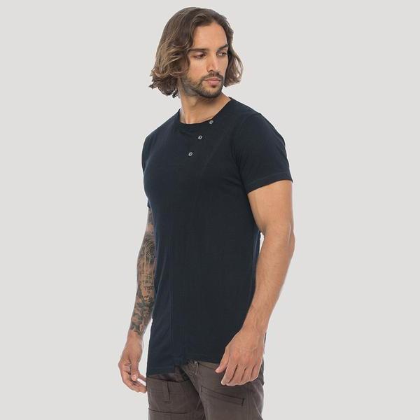 "\""Slanted Remix\"" t-shirt, Black"
