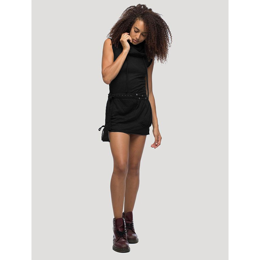 "Sleeveless dress \""Soba\"", Black"