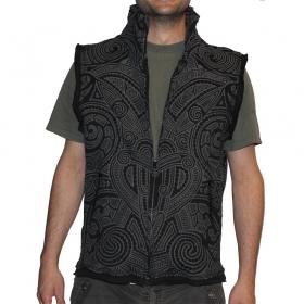 Sleeveless vest gadogado