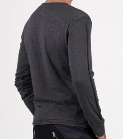 """Slub\"" sweater, Charcoal"