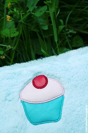 Soft case/kit cupcake