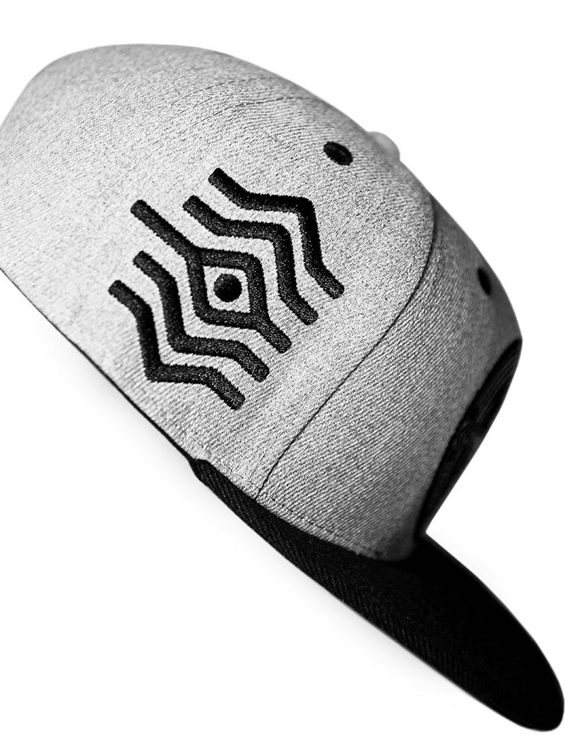 "\""Solos\"" snapback cap, Black"