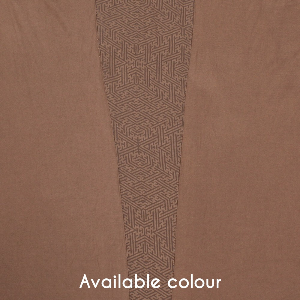 """Soma Sayagata"" kaftan shawl, Light brown"
