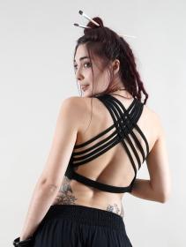 "\""Somchai\"" bra, Black"