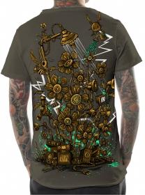 "\\\""Soundgarden\\\"" t-shirt, Dark beige"